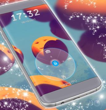 Emoji 2017 Unlock Color Lockscreen apk screenshot