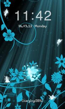 Go Locker Fairy Blue apk screenshot