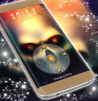Lock Screen Skull Theme screenshot 4