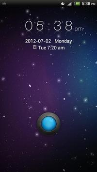 GO Locker Galaxy Theme poster
