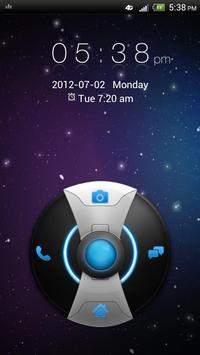GO Locker Galaxy Theme apk screenshot