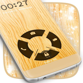 Wood Locker Theme For Galaxy S4 icon