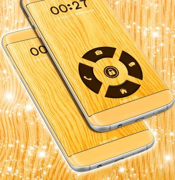 Wood Locker Theme For Galaxy S4 apk screenshot