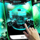 3D Locker Technology Theme icon