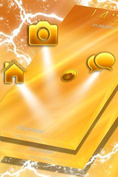 Gold Locker Theme apk screenshot