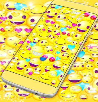Locker Emoji Screen Theme poster