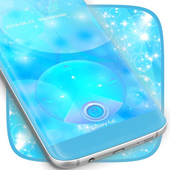 Blue Locker Theme For S5 icon
