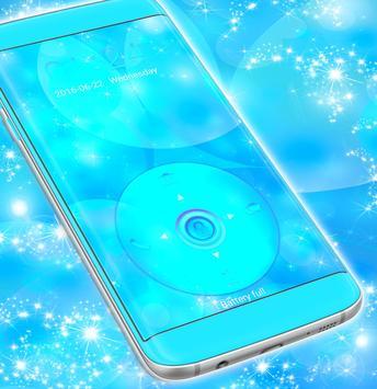 Lock Screen for S5 Blue apk screenshot