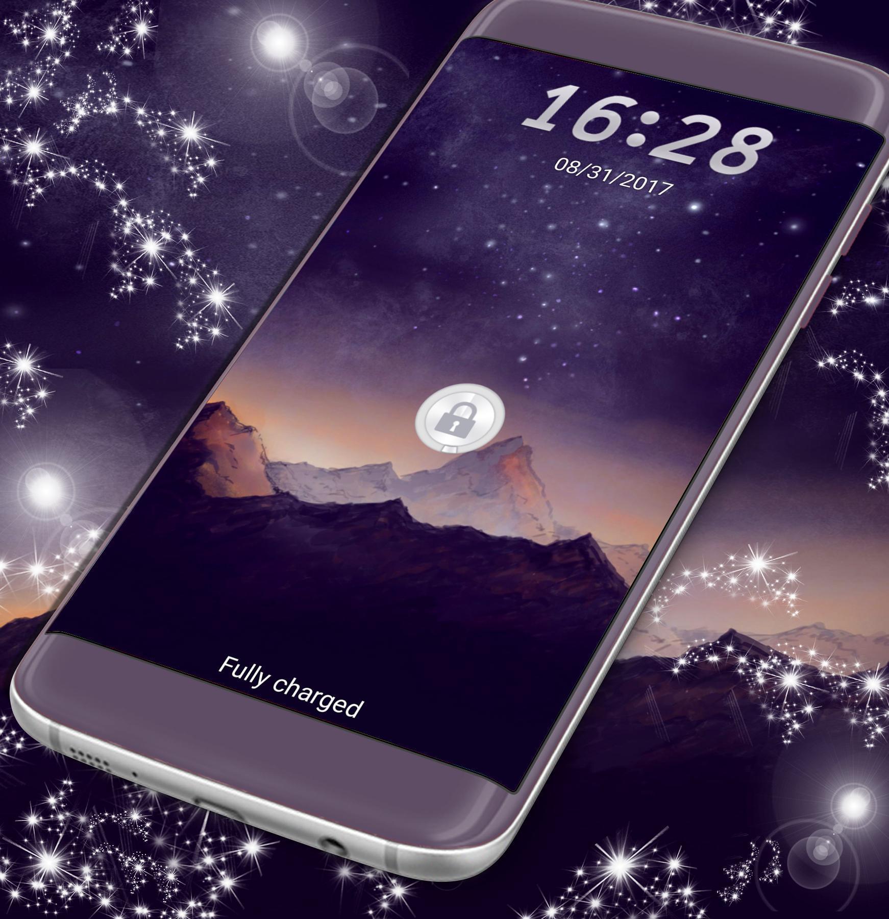 Night Landscape Locker Theme For J5 Prime For Android Apk Download