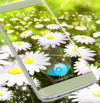 Lock Screen Flowers Wallpaper screenshot 4