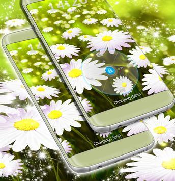Lock Screen Flowers Wallpaper screenshot 1