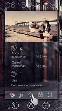 Love is back GO Locker Theme poster