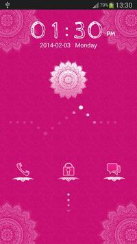 Pink Fever for GO Locker apk screenshot