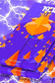 Pixel Flower Locker Theme screenshot 1