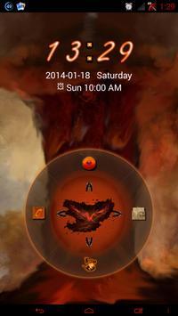 Rebirth GO Locker theme apk screenshot