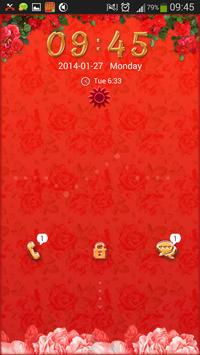 Red Rose for GO Locker screenshot 4