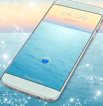 Water Lock Screen Theme For Samsung poster