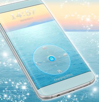 Water Lock Screen Theme For Samsung screenshot 3