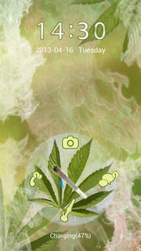 Weed Rasta Theme for GO Locker apk screenshot