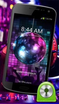 Disco Music - GO Locker Theme poster
