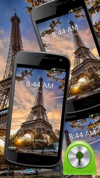 Eiffel Tower - GO Locker Theme poster