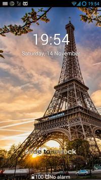 Eiffel Tower - GO Locker Theme apk screenshot