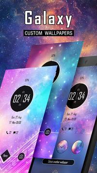 (FREE) Galaxy Theme GO Locker poster