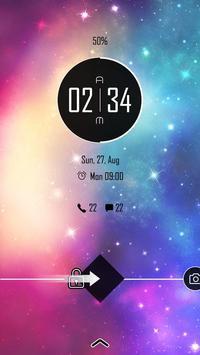 (FREE) Galaxy Theme GO Locker screenshot 2