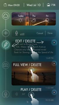 Timeline GO Locker Theme apk screenshot