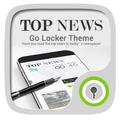Top News GO Locker Theme