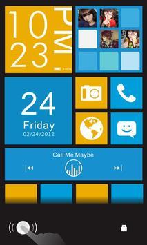 Color box Plus GO Locker Theme apk screenshot