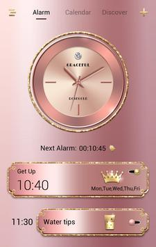 Graceful GO Clock Theme poster