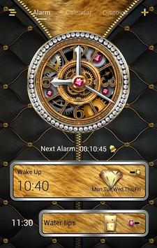 Luxurious GO Clock Themes poster