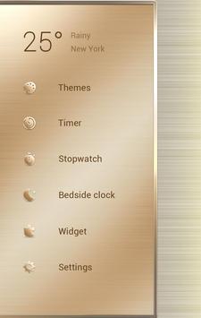 Royal GO Clock Theme apk screenshot