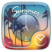 Summer Go Clock Theme icon