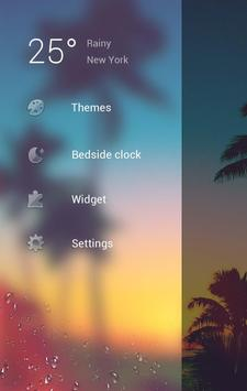Summer Go Clock Theme apk screenshot