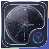 Serendipity GO Clock Themes icon