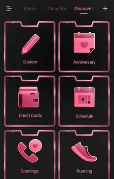 SpringSakura GO Clock Themes apk screenshot