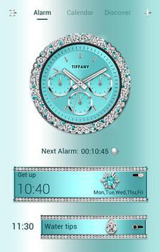 Tiffany GO Clock Theme poster