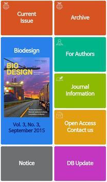 Biodesign Journal poster