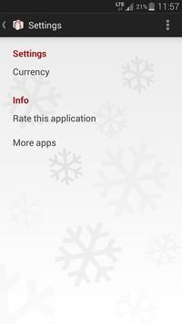 Christmas Gifts List apk screenshot