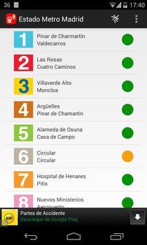 Estado Metro Madrid poster