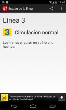 Estado Metro Madrid screenshot 2
