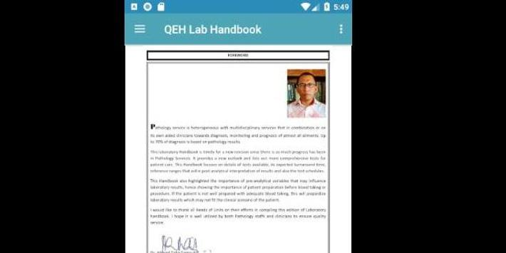 QEH Lab Handbook screenshot 2