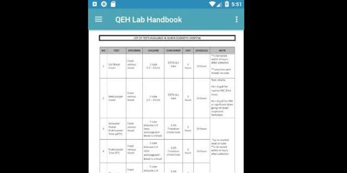 QEH Lab Handbook screenshot 4