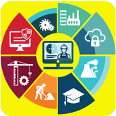 Computer Course -Skill India icon