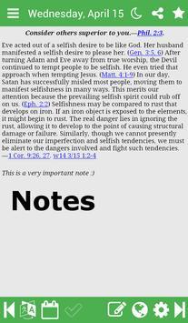 Daily Text 2017/2018 apk screenshot
