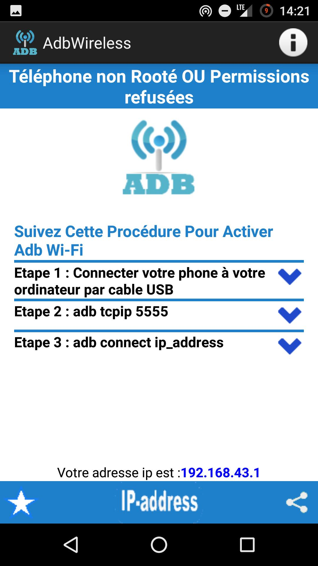adb wireless (root or no-root) for Android - APK Download