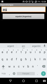 español lengua apk screenshot