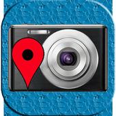 GPS Map Camera use BaiduMap icon